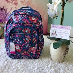 Vera Bradley XL Campus Backpack Dragon Fruit Flora